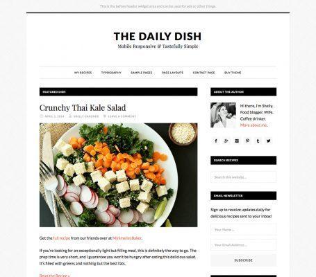 StudioPress – Daily Dish Pro