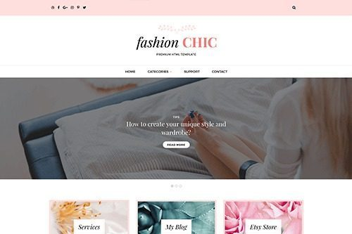 Theme Junkie – Fashion Chic
