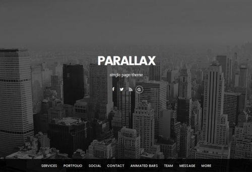 Themify – Parallax