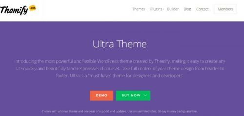 Themify – Ultra