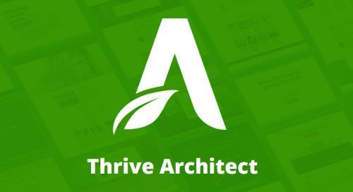 Thrive – Architect + Landing Pages (Previously known as Visual Editor / Content Builder)