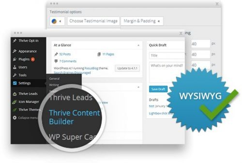 Thrive – Content Builder