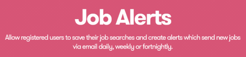 WP Job Manager – Alerts