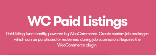 WP Job Manager – WooCommerce Paid Listings