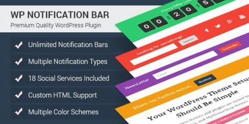 MyThemeShop – WP Notification Bar Pro
