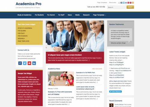 WPZOOM – Academica Pro