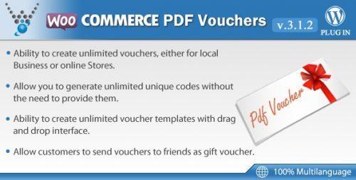 WooCommerce PDF Vouchers – WordPress Plugin