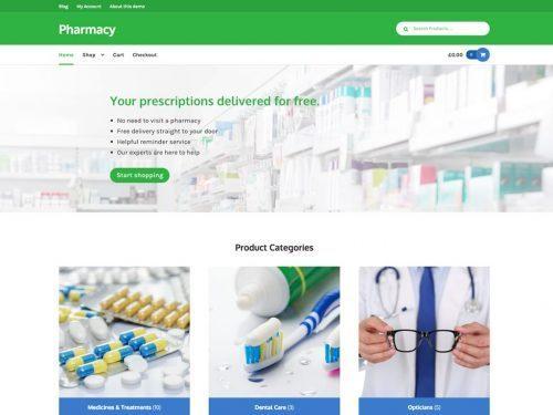 Storefront – Pharmacy