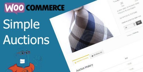 WooCommerce Simple Auctions – WordPress Auctions