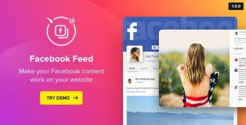 WordPress Facebook Plugin – Facebook Feed Widget