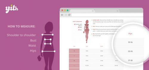 YITH – Product Size Charts for WooCommerce Premium