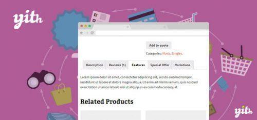 YITH – WooCommerce Tab Manager Premium