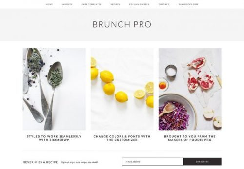 StudioPress – Brunch Pro Theme