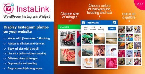 Instagram Widget – Instagram for WordPress