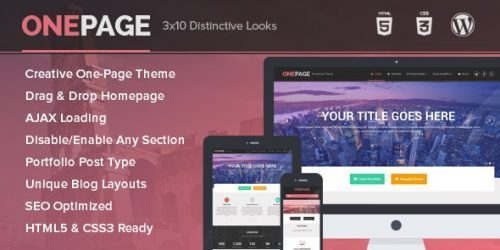 MyThemeShop – OnePage