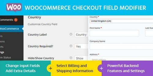 MyThemeShop – WooCommerce Checkout Field Modifier