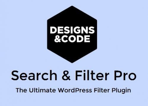 Search & Filter Pro (by Designs & Code)