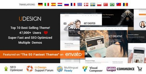 uDesign – Responsive WordPress Theme