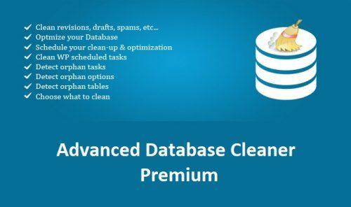 Advanced Database Cleaner Premium